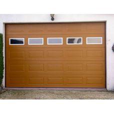 Ворота в гараж с дверью Doorhan 3500x2500