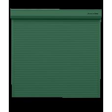 Рольворота DoorHan 5000х2000 цвета RAL 6005 (зелёный) взломостойкие с автоматикой