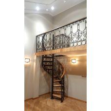 Кованая лестница КЛ 73