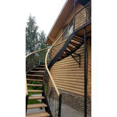 Кованая лестница КЛ 74