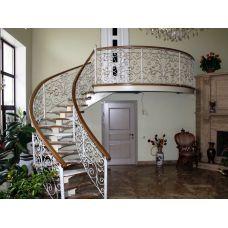 Кованая лестница КЛ 75