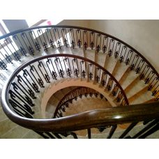 Кованая лестница КЛ 76