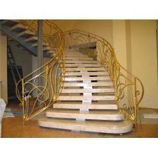 Кованая лестница КЛ 79