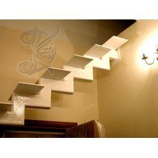 Кованая лестница КЛ 82