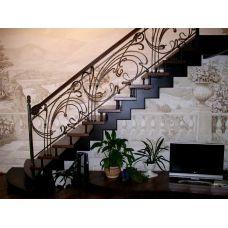 Кованая лестница КЛ 84