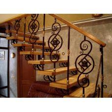 Кованая лестница КЛ 86