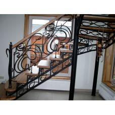Кованая лестница КЛ 87
