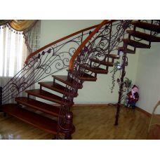 Кованая лестница КЛ 90