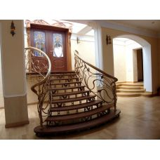 Кованая лестница КЛ 91