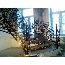 Кованая лестница КЛ 92