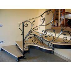 Кованая лестница КЛ 93