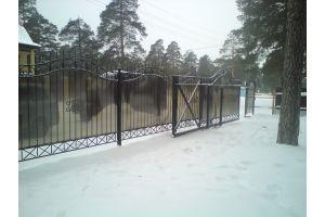 Кованые заборы Забор перегородка