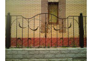 Кованые заборы Забор декоративный