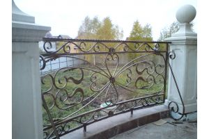Кованые заборы Забор, художественная ковка