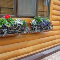 Кованая цветочница арт. 84875116