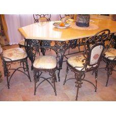 Кованный стол арт. 84875157