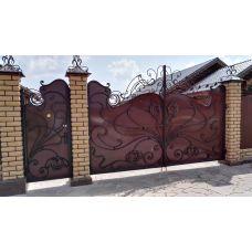 Кованые ворота арт. 47310055