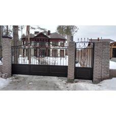 Кованые ворота арт. 47310056