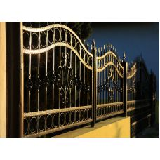 Кованный забор арт. 69871483