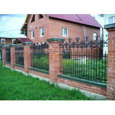 Кованный забор арт. 69871484