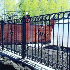 Кованный забор арт. 69871485