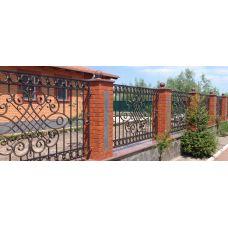 Кованный забор арт. 69871486