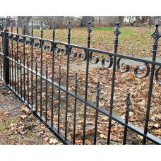 Кованный забор арт. 69871487