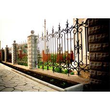 Кованный забор арт. 69871491