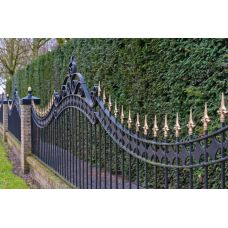 Кованный забор арт. 69871494