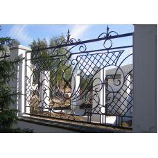 Кованный забор арт. 69871471