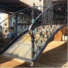 Кованый мост арт. 618118