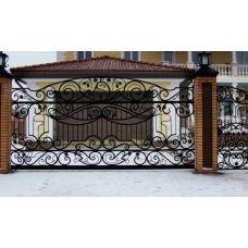 Кованые ворота арт. 47310043