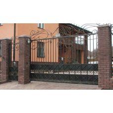 Кованые ворота арт. 47310044