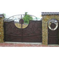 Кованые ворота арт. 47310045