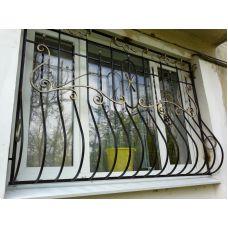 Кованая решетка на окно арт. 046181