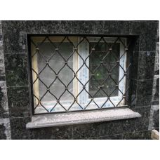 Кованая решетка на окно арт. 046182