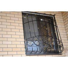 Кованая решетка на окно арт. 046187