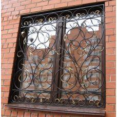 Кованая решетка на окно арт. 046188