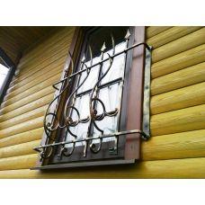 Кованая решетка на окно арт. 046193