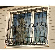 Кованая решетка на окно арт. 046194