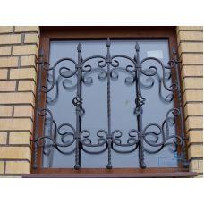 Кованая решетка на окно арт. 046196