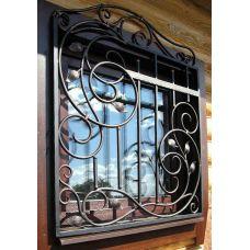 Кованая решетка на окно арт. 046197