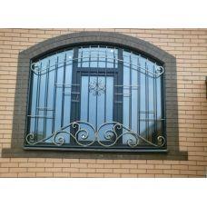 Кованая решетка на окно арт. 046173