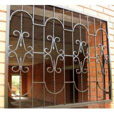 Кованая решетка на окно арт. 046175
