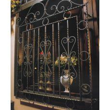 Кованая решетка на окно арт. 046178