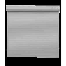 Рольворота DoorHan 5000х2000 цвета RAL 9006 (серебристый) невзломостойкие с автоматикой